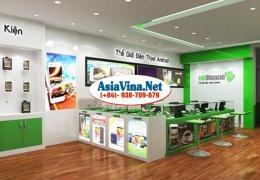 Thi công showroom HKPhone